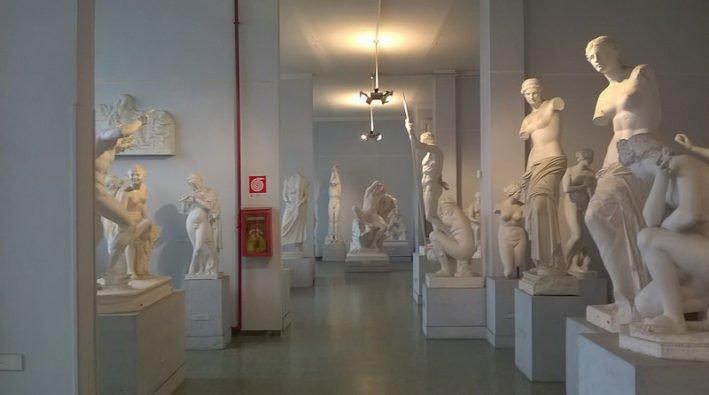 Nella foto, uno scorcio del museo dell'Arte Classica de La Sapienza