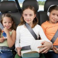 bambini in auto_estate