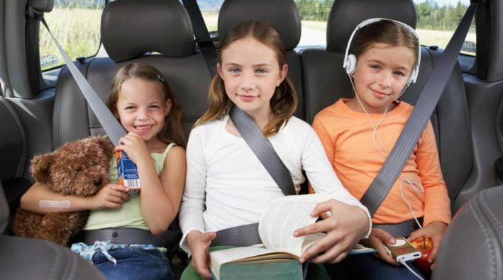 viaggio in auto con bambini