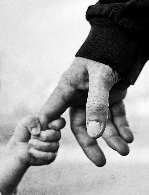 Dare il buon esempio ai propri figli