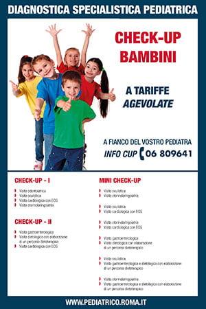 Check Up Bambini a tariffe agevolate
