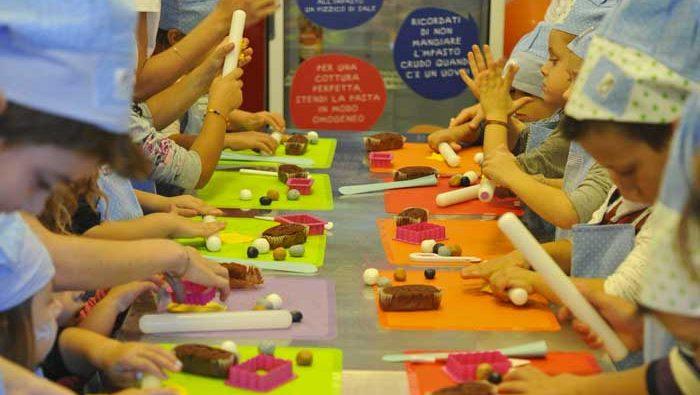laboratori creativi gratuiti kids food festival
