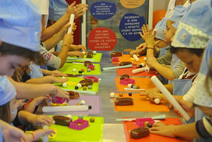 laboratori creativi gratuiti kids food festival